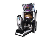 Hotselling Amusement Coin Operated Arcade 32LCD Initial D 8 Car Racing Video Simulator Game Machine For Sale