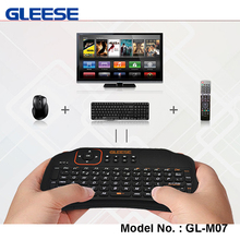 Factory Direct Supplier Mini 2.4G Wireless Keyboard&Mouse Remote Control for Smart TV Desktop Laptop Box