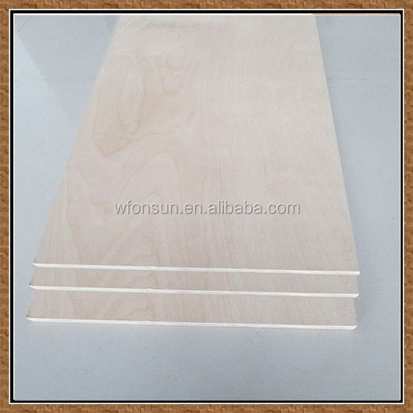 the cheapest superior quality birch plywood 3mm made in china in sale