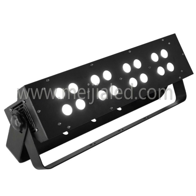 sound control mini ktv/disco/pub/ led stage light with 16pcs 4in1 led