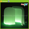 Rounded used inflatable paint 3d photo booth cabinet sales tent