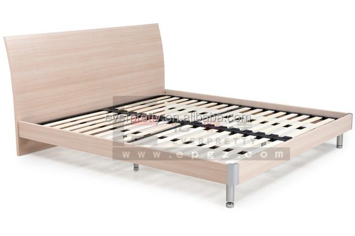 Деревянная мебель кровати, queen size hotel кровать для спальни