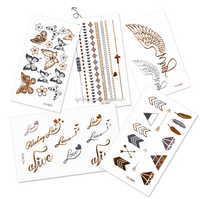 fake high quality diamond body jewelry tattoo sticker
