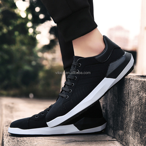 Mens casual sports shoes stock fashion walking shoes china