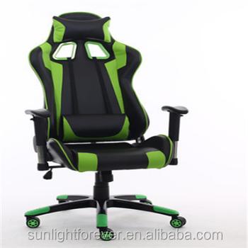 Top R Ergonomic Gaming Chair Black