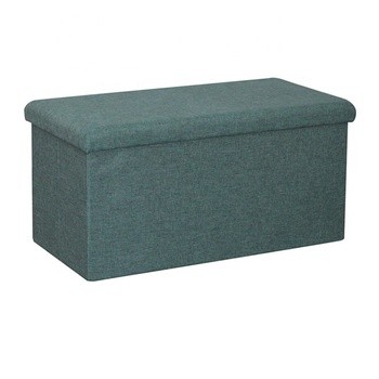 Fabulous Linen Fabric Folding Bench Storage Ottoman Cloth Stool Buy Cloth Stool Bench Storage Ottoman Ottoman Storage Stool Cloth Product On Alibaba Com Caraccident5 Cool Chair Designs And Ideas Caraccident5Info
