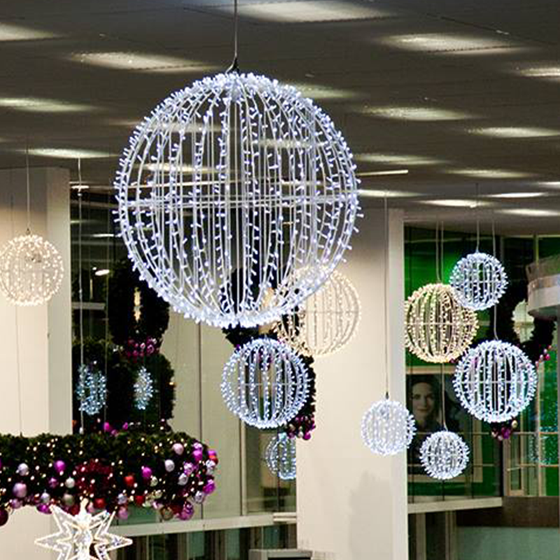 Commercial Christmas Lights Outdoor Giant Lighted Sphere Christmas Balls Warm White Cool White Buy Commercial Christmas Lights Outdoor Sphere