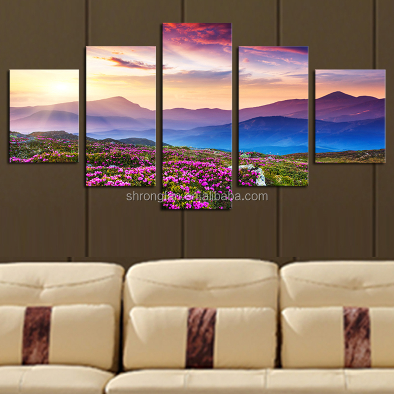 Promotion Full Color Custom Canvas Print For Paintings Art On Canvas
