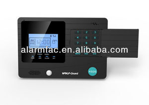 Home appliance control ! 2013 New GSM Smart Alarm System with LCD Screen and built-in PIR sensor (YL-007M2K)