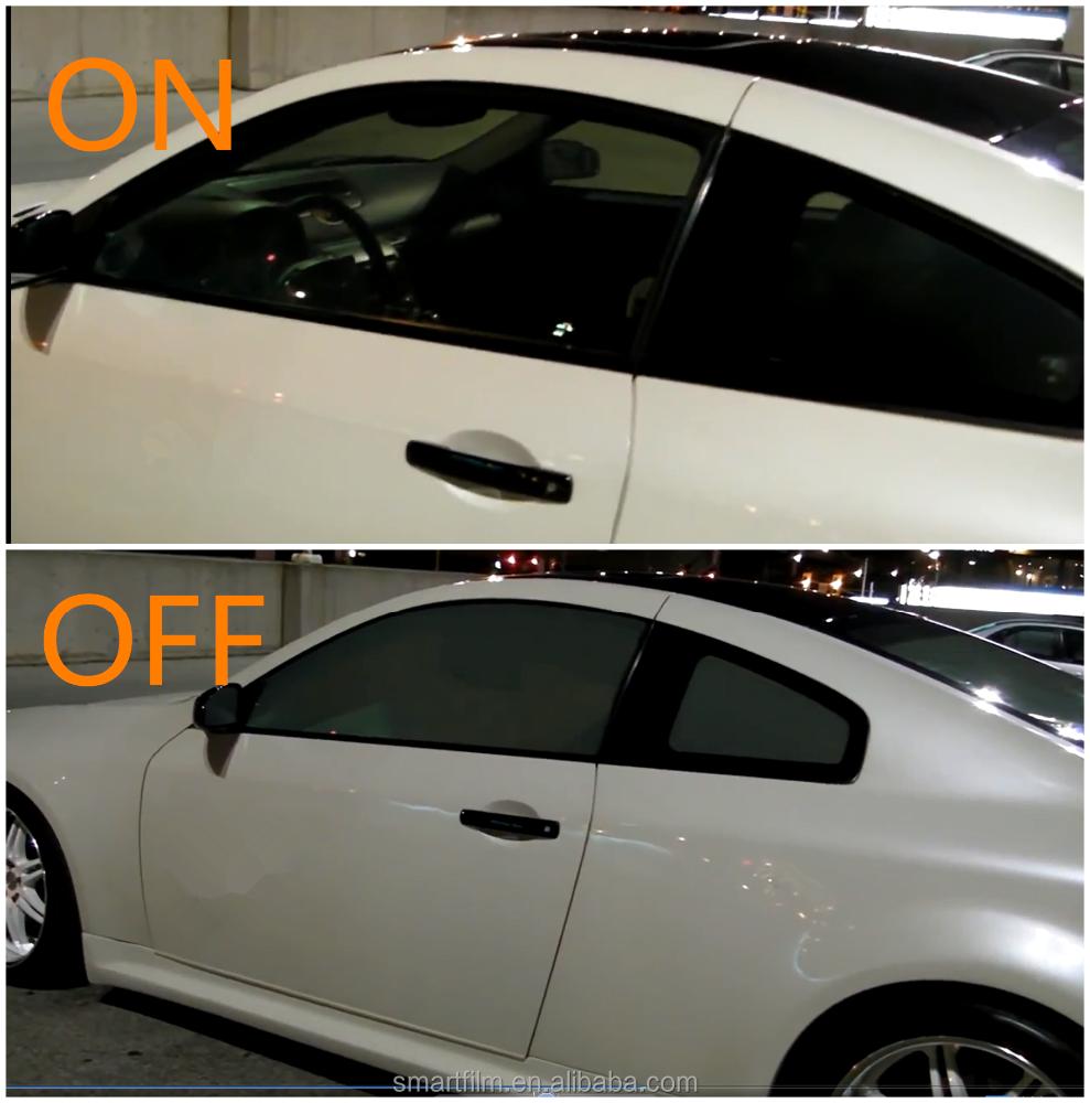 Smart Car Window Transpa Sticker Sliding Tint Film Visors For Honda