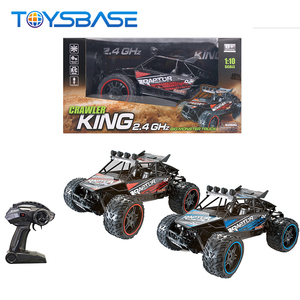 1:10 2.4G 4 Remote Control High Speed Bigfoot Toy Awd RC Car