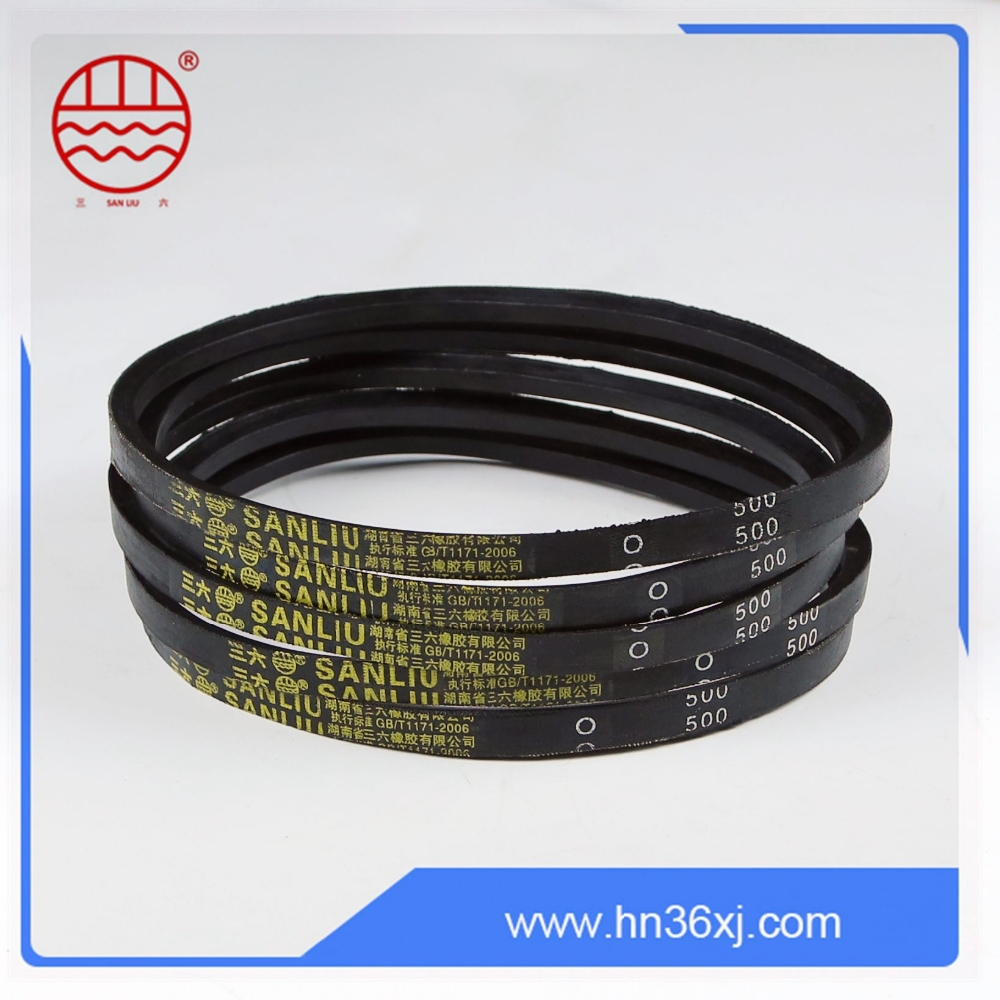 Small extending rate heat resistant OEM rubber poly v belt for sale