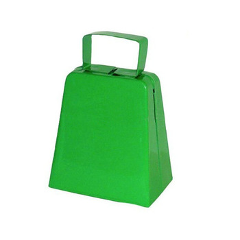 3 inch noisemaker cowbell with customize color and logo