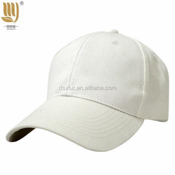 Cheap Price Wholesale personalized custom no logo plain white baseball caps 850936bfe1e