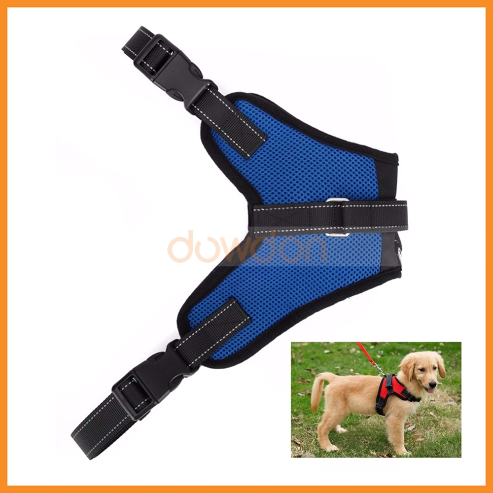 Comfort Saddle Style Durable Mesh Fabric Sport Pet Dog Harness for Dogs