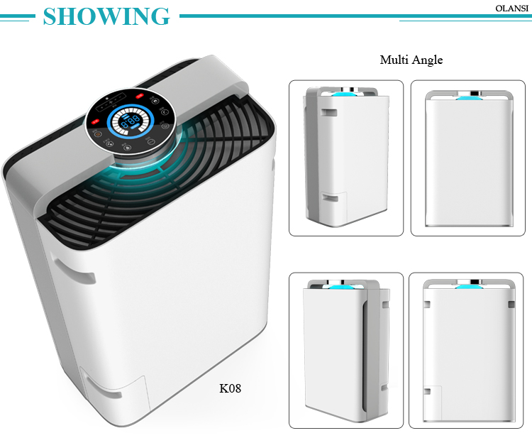 China Best Quality Pluggable Portable UV-C Sanitized Xiaomi Mi Indoor Home Filter Personal Air Purifier