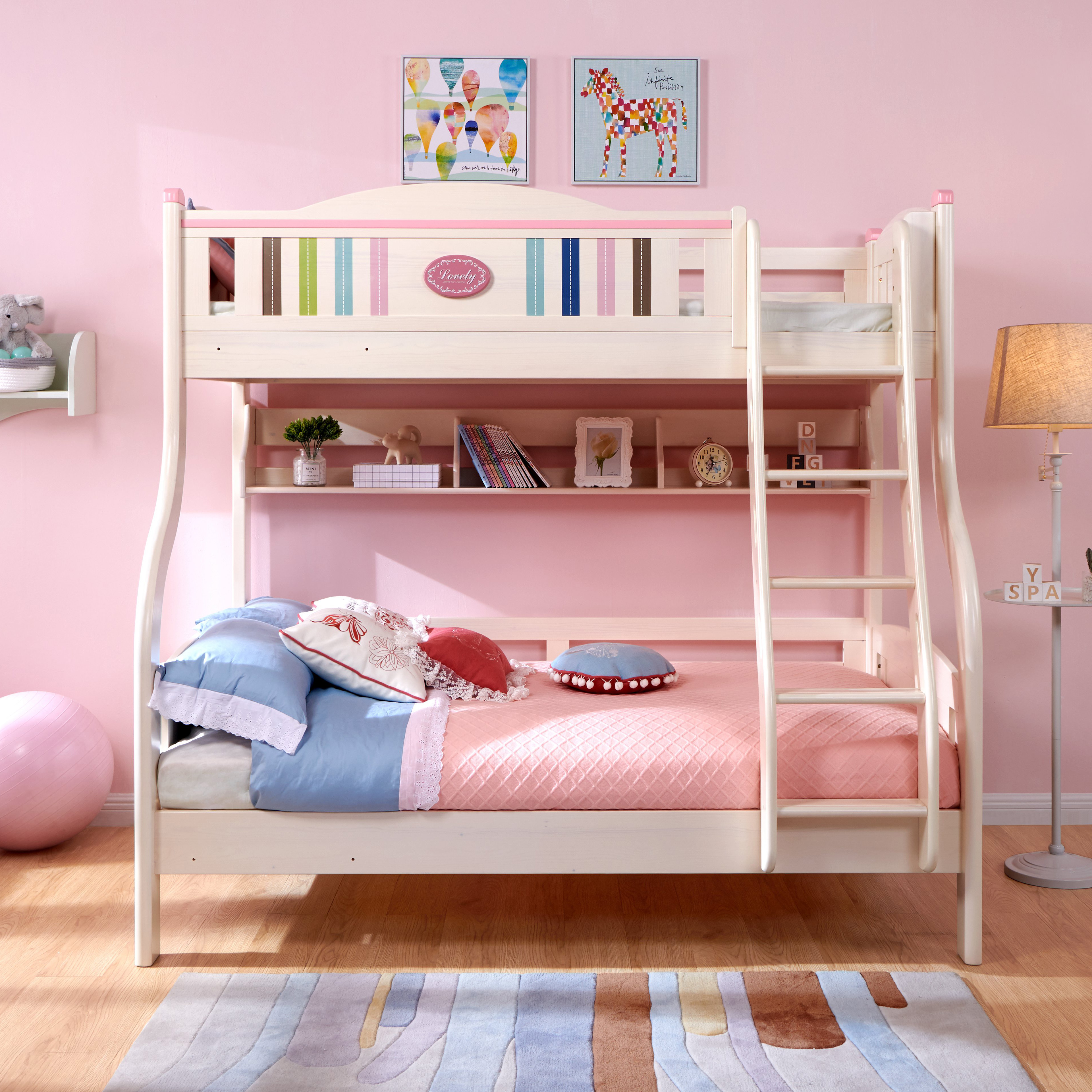 New Design China Manufacturer Wood Bunk Bed For Kid To Sleep Kids Bedroom  Furniture Bunk Bed Princess Bed With Stairs - Buy Twin Double Deck Bed,Kids  ...