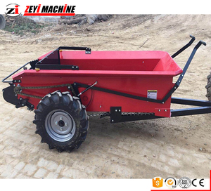 2018 new pto shaft drivied small manure spreader buy tractor