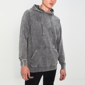 China factory customized wholesale men's clothing pullover over blank hoodies with no labels