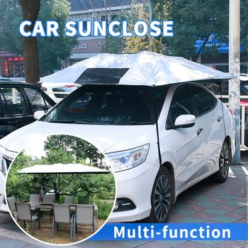 Car Factory Direct >> Car Factory Direct Sale Summer Sun Protection Easy Use Windshield Magnetic Car Cover Buy Magnetic Car Cover Uv Protection Car Cover Car Parking Car