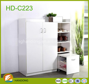 Display cabinet/wall mount glass display cabinets/modern shoe cabinet