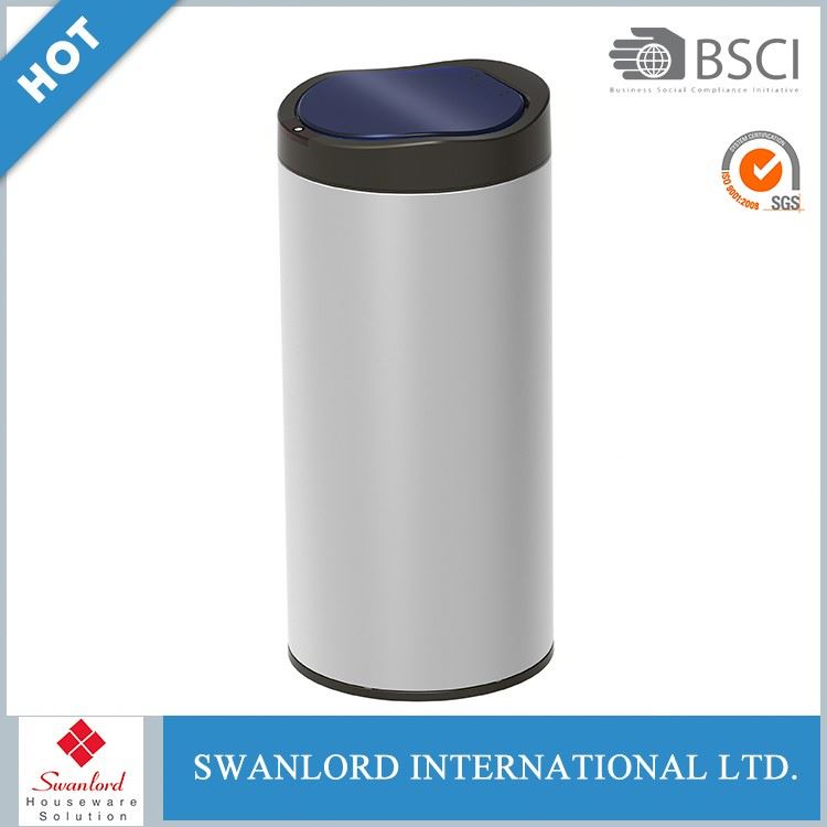 Electronic Infrared Stainless Steel Sensor trash can Waste bin