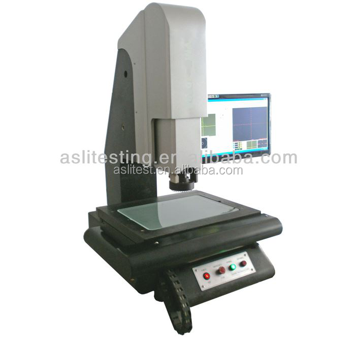 2D and 3D visual measuring machine