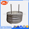 ISO Certification aquarium cooling coil heat exchanger coil