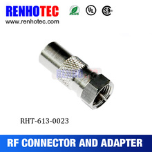 2016 factory price F female connector to pal male adapter connector from Dosin