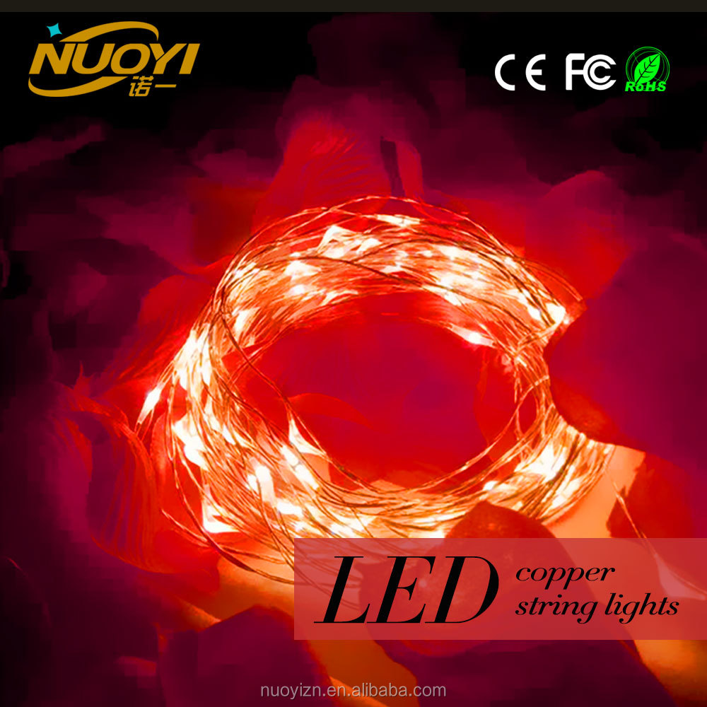 Factory Price 5V 10m led cristmas light decoration christmas led copper string lights