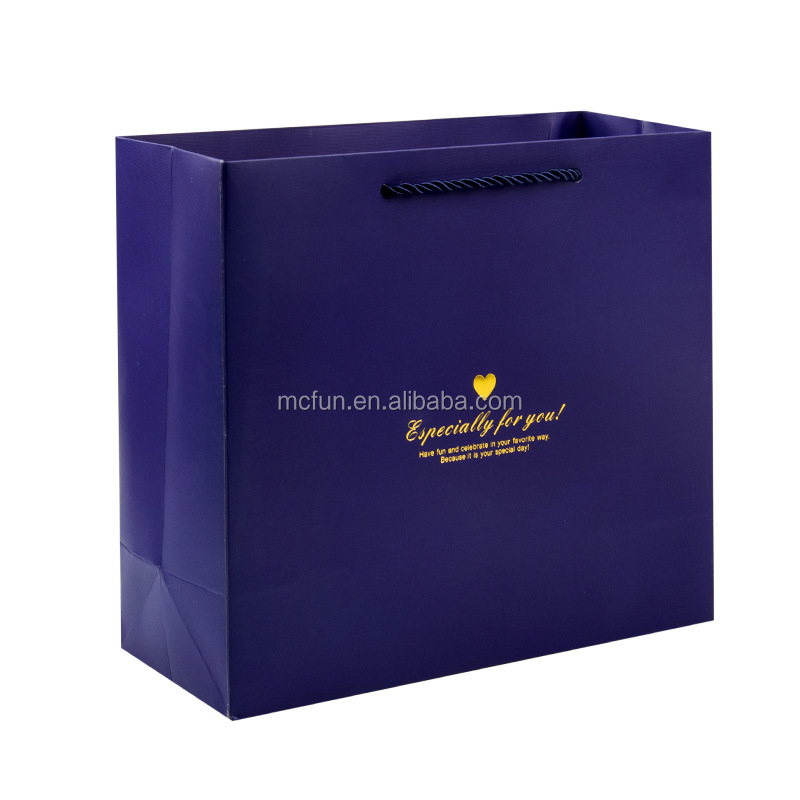 Luxury Shopping store paper Bags