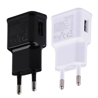 EU plug Adapter 5V 2A EU USB Wall Charger Mobile phone charger for iphone X mobile phone charger