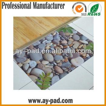 AY Waterproof Kitchen Floor Mats , Floor Carpet Rug With Sublimation  Printing