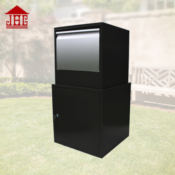 Jhc6005 Metal Parcel Drop Box Delivery Lbox Large Secure Outdoor