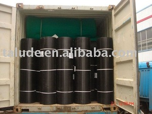 HDPE/PP Uniaxial Geogrids / PP UX Geogrid with CE certificate
