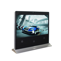 Big size 65 inch indoor digital electronic poster advertising player network media andoriod display with management software
