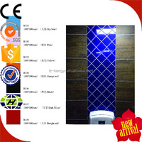 100x100mm colorful artistic engobe glazed wall tile