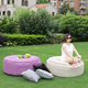 bean bag cell phone holder Home Bean Bag Chair Foot Pouf Filling
