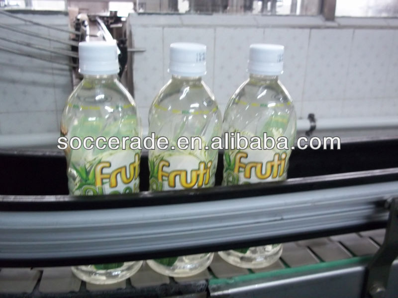 500ml Aloe vera drink with label