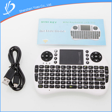 New Arrival WiFi Direct Wireless Computer Keyboard With Sensitive Touch Screen
