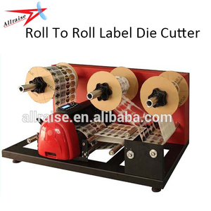 Digital Rotary Label Die Cutter, Roll To Roll Label Die Cutting Machine