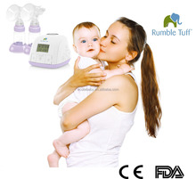 Hot Sale Double Automatic Electric Breast Feeding Milk Pump W/ LCD Screen, BPA Free, FDA CE Approved