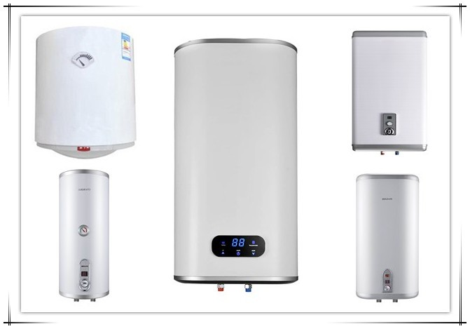 Multiple Security Protection Vertical Electric Shower Water Heater Bathroom Water Heater Hot