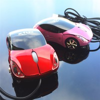 Promotional Gift Sports Cheap Light Up Wired Car Mouse
