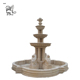 customized large outdoor garden decoration handcarved 3 tier marble lion statue water fountains MLXD-70