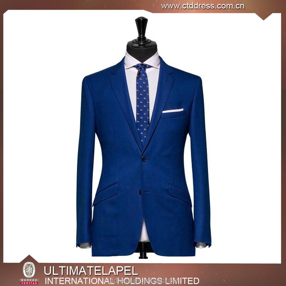 Latest Designer Blazers | Latest Custom Design Royalblue Blazers Men Slim Fit Jackets Buy
