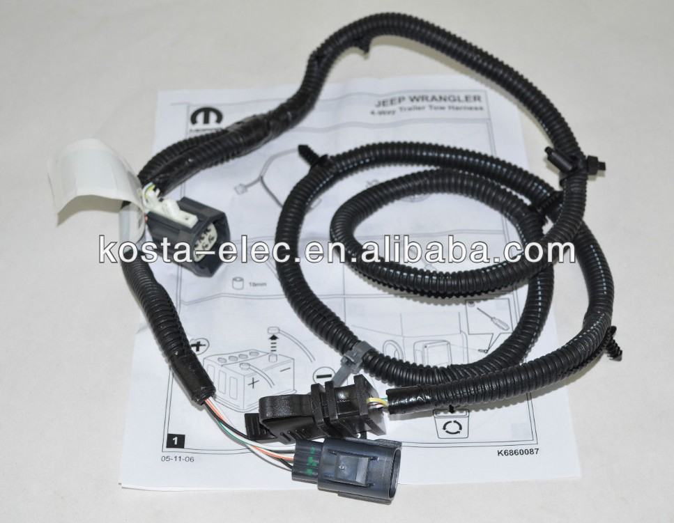 Mopar Wiring Harness Mopar Wiring Harness Suppliers and – Jeep Wiring Harness For Trailers