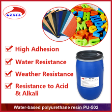 PU-502 waterbased polyurethane synthetic ABS resin for adhesive