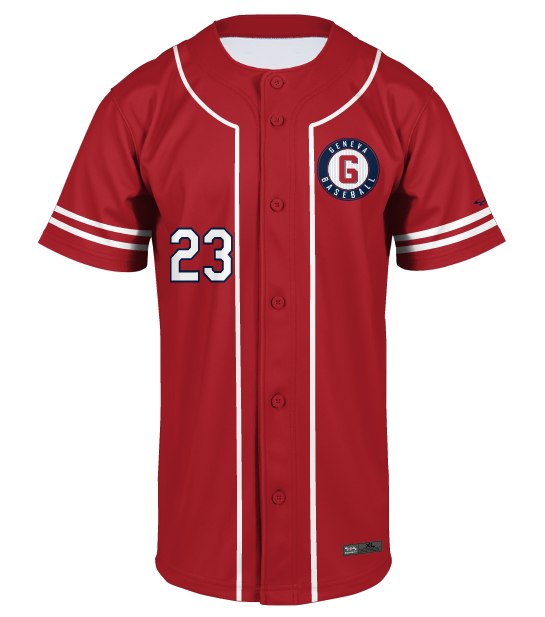 New Design Sublimation Printing Polyester Blank Baseball Jersey