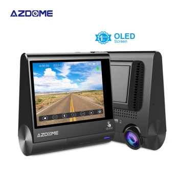 Touch Screen Dual Lens Dashboard Camcorder Dvr Full HD1080p Driver Car Camera